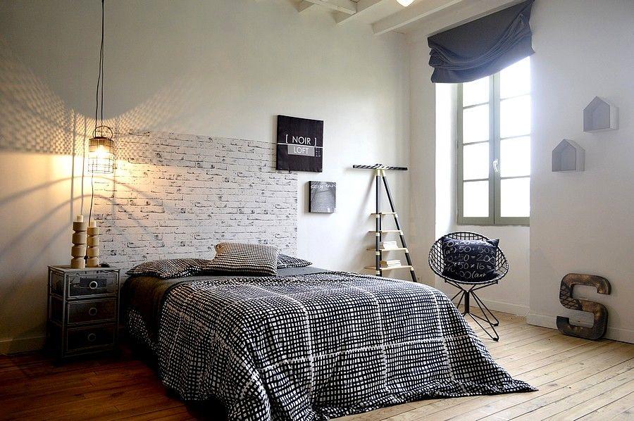 Quelle couleur pour les rideaux d 39 une chambre de jeune - Idee deco chambre homme ...