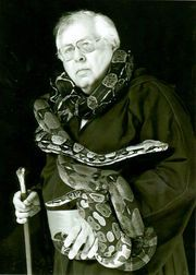 John T  Martin, python fancier who once ran the New Orleans
