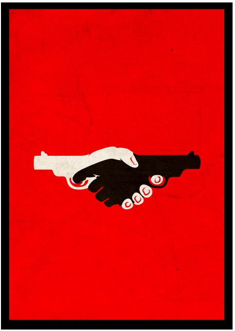 Antiracism poster - Aggelos Ntina