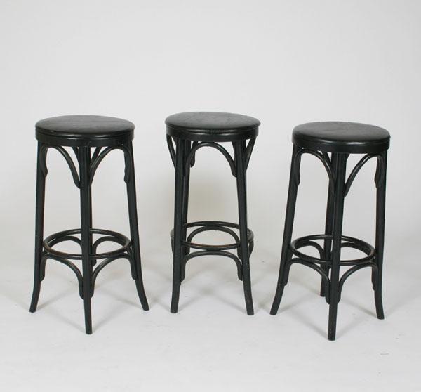 bentwood bar stools Thonet style