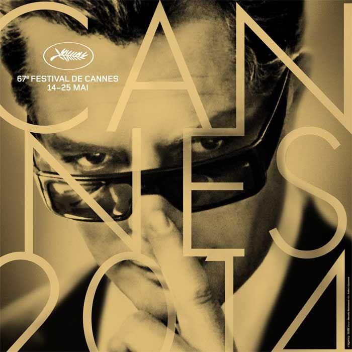 Mastroianni on Cannes Festival Posters. Marcello Cannes here! - Cinematografo.it