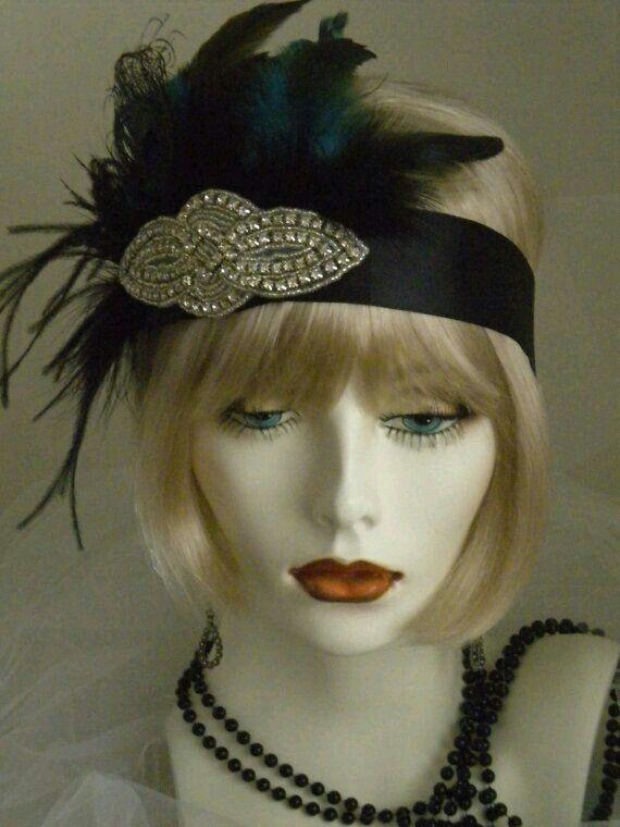 1920 Flapper Dresses and Headdresses
