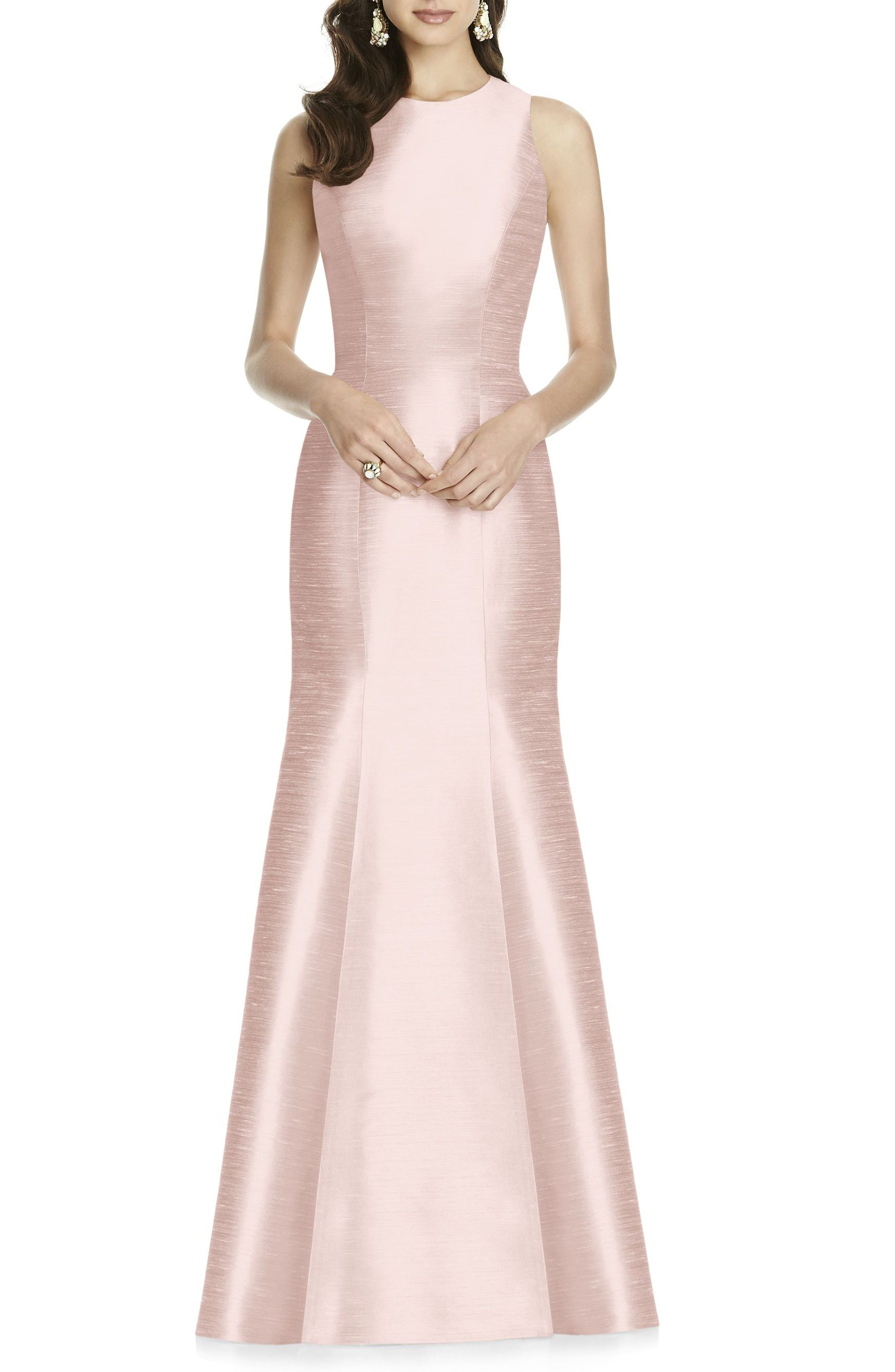 e21b22a3b Blush Bridesmaid Dress Trumpet Gown, Formal Dresses, Wedding Dresses,  Women's Fashion Dresses,