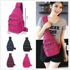 Fashion Leisure Women's Bicycle Chest bag Backpack Single inclined Shoulder Bag