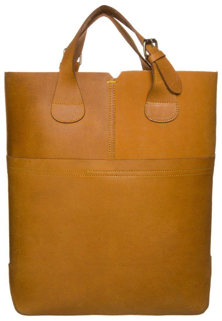 Zign - Shopping bag - ruskea