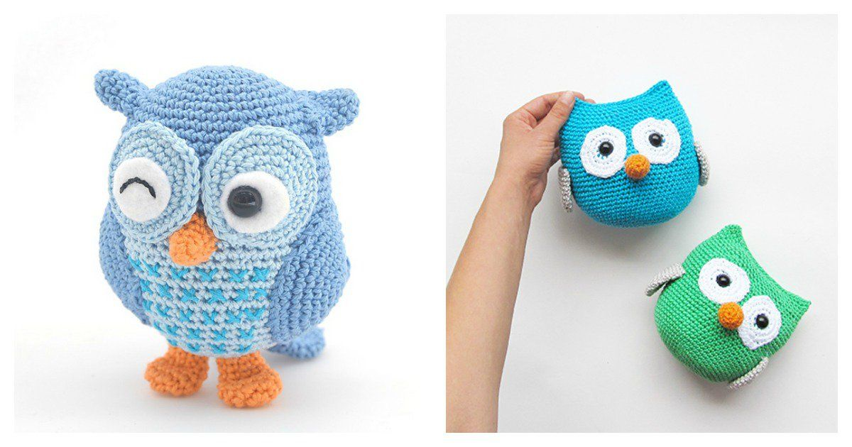 Crochet Amigurumi Owl Free Patterns | Grandkids | Pinterest