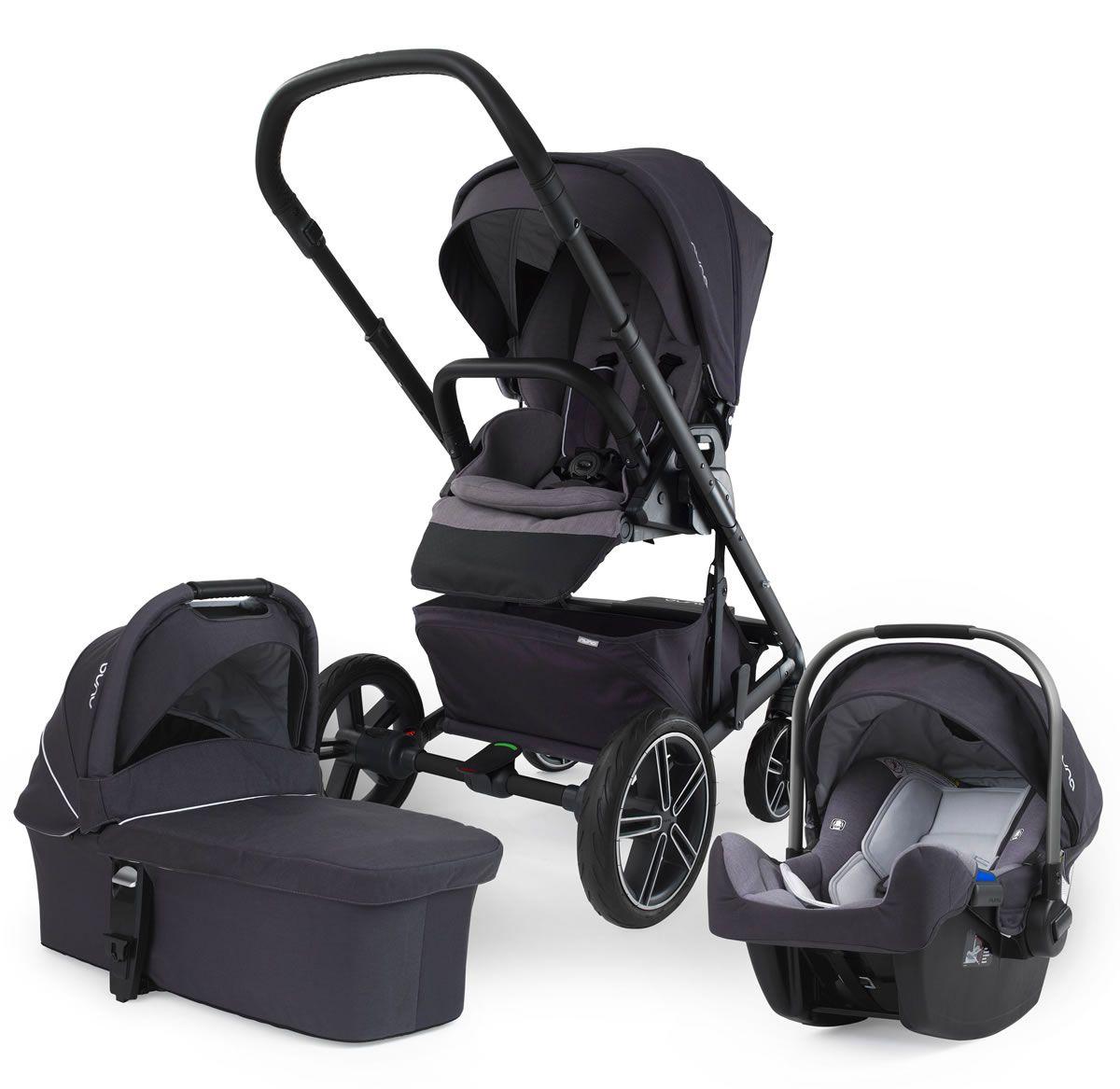 Nuna Mixx Travel System & Jett Baby strollers