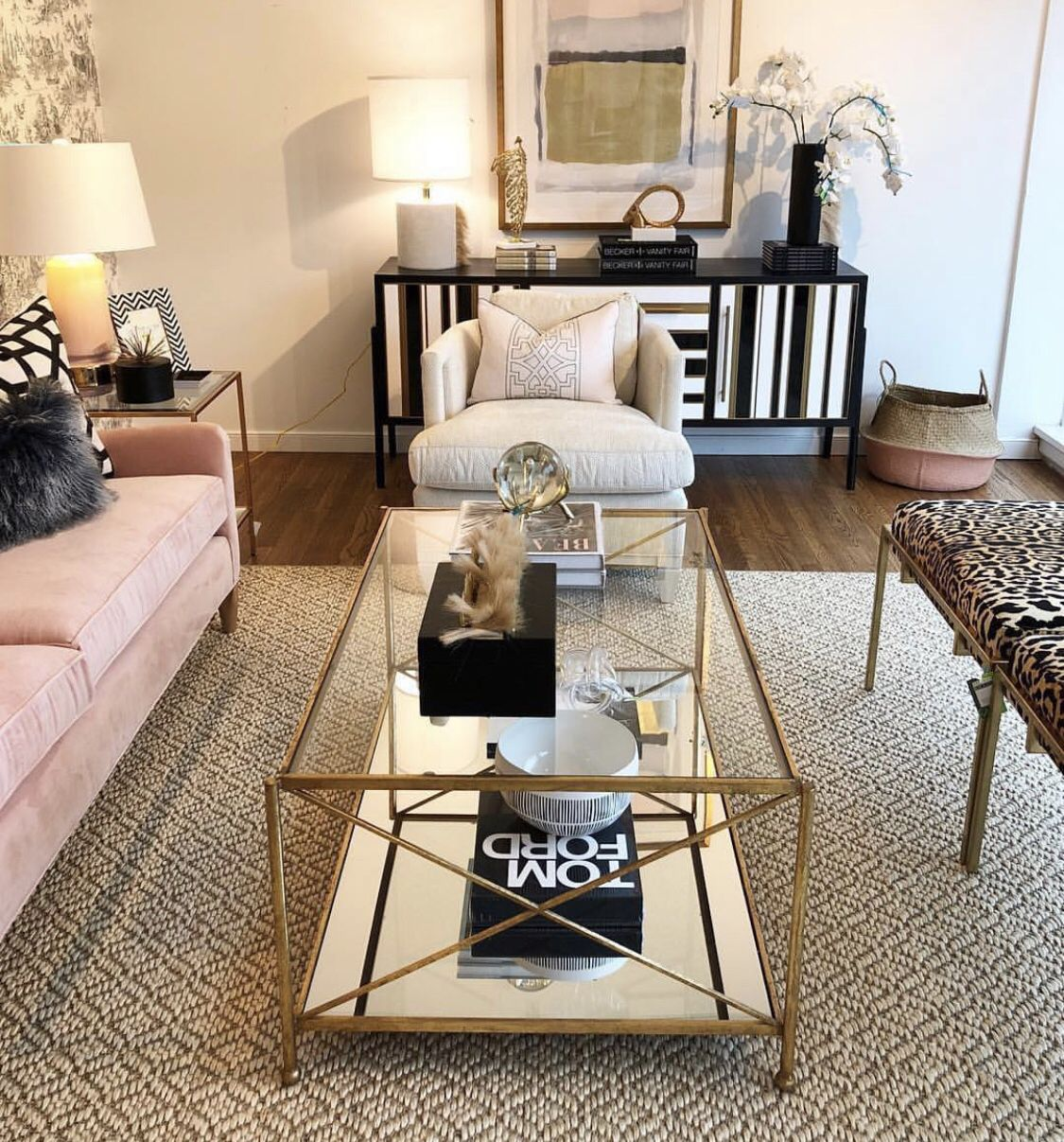 Iris Gold Leaf 2 Shelves Coffee Table Gold Coffee Table Coffee Table Glass Gold Table [ 1207 x 1125 Pixel ]