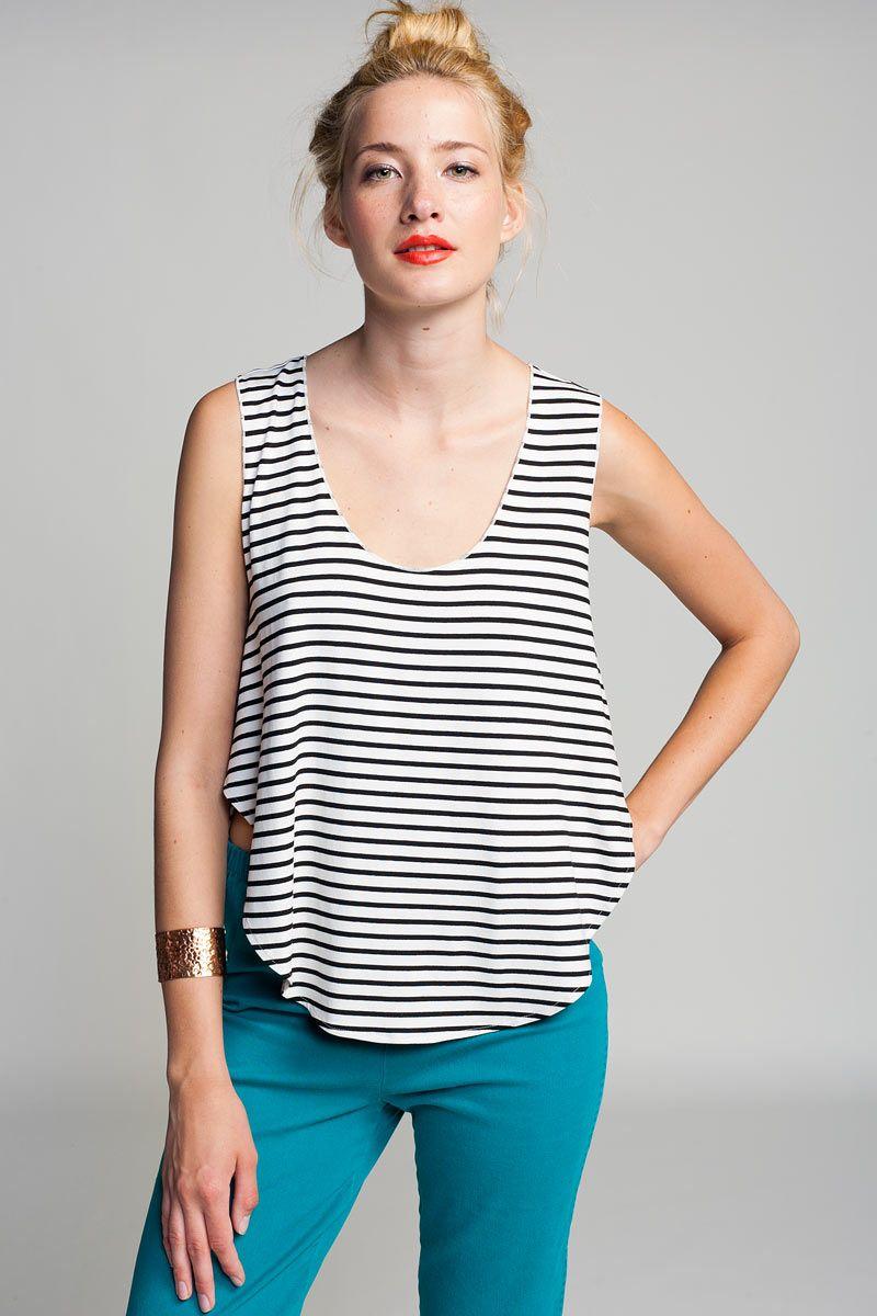 striped tank ++ otis & maclain
