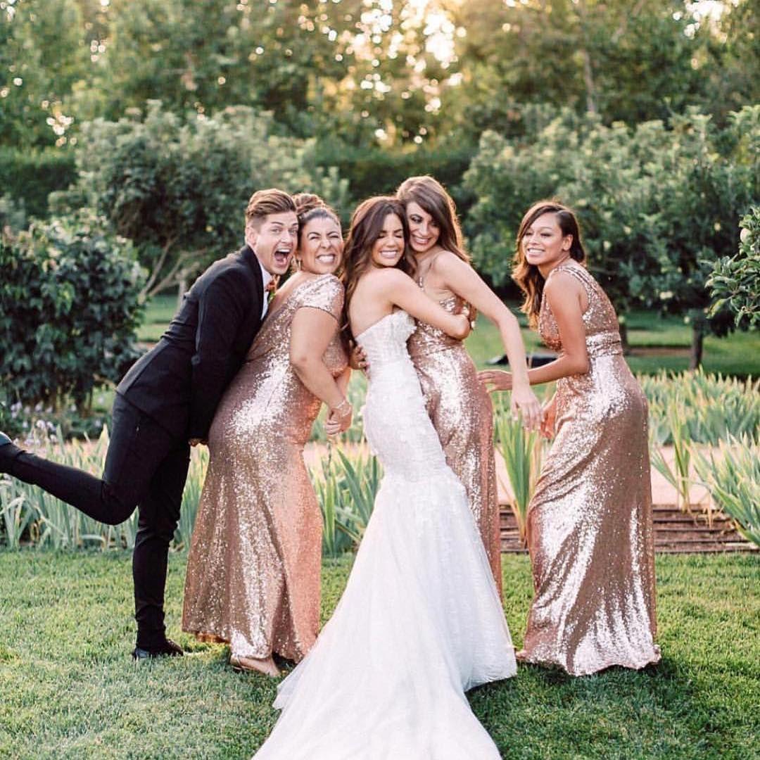 Hazel Sequin Dress Garden Wedding Dresses Bridesmaid Sequin Bridesmaid Dresses [ 1080 x 1080 Pixel ]