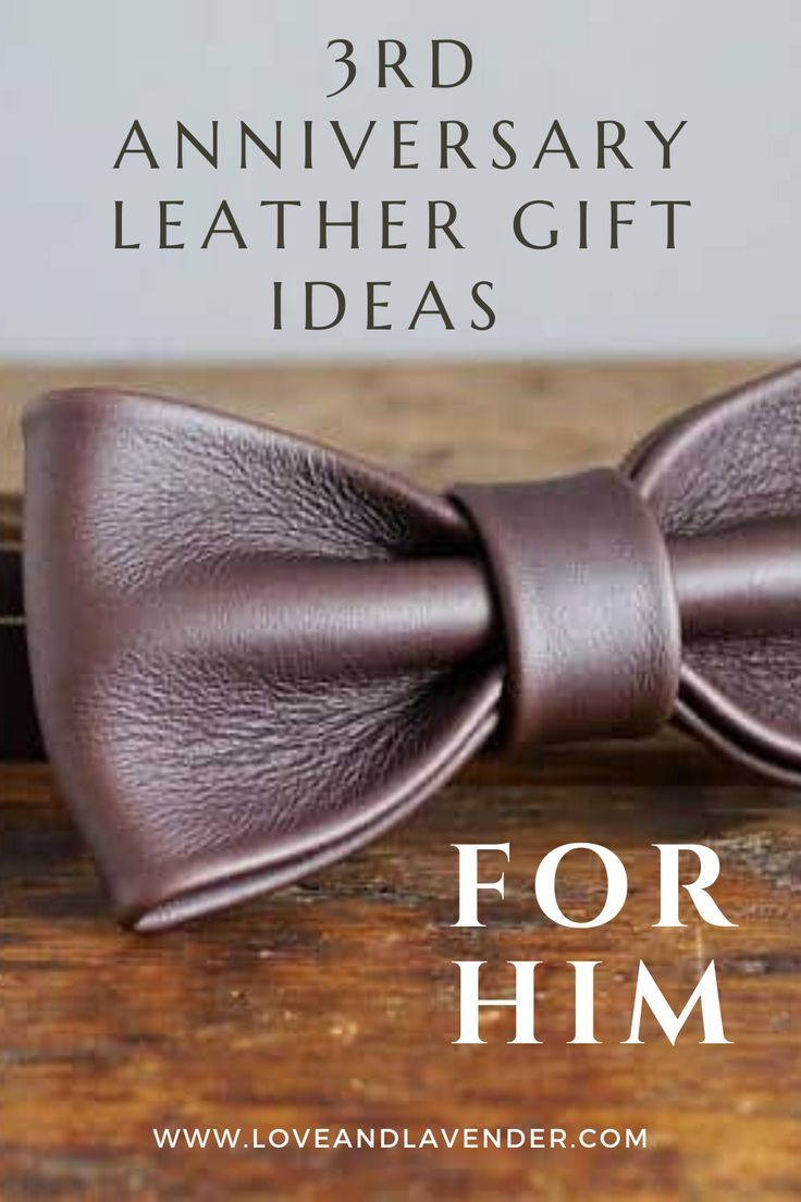 23 lovely leather anniversary gifts for your 3rd year in