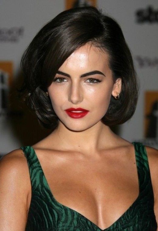 The Best Celebrity Bob Hairstyles To Try Belle Hair Camilla - Classic elegant hairstyle