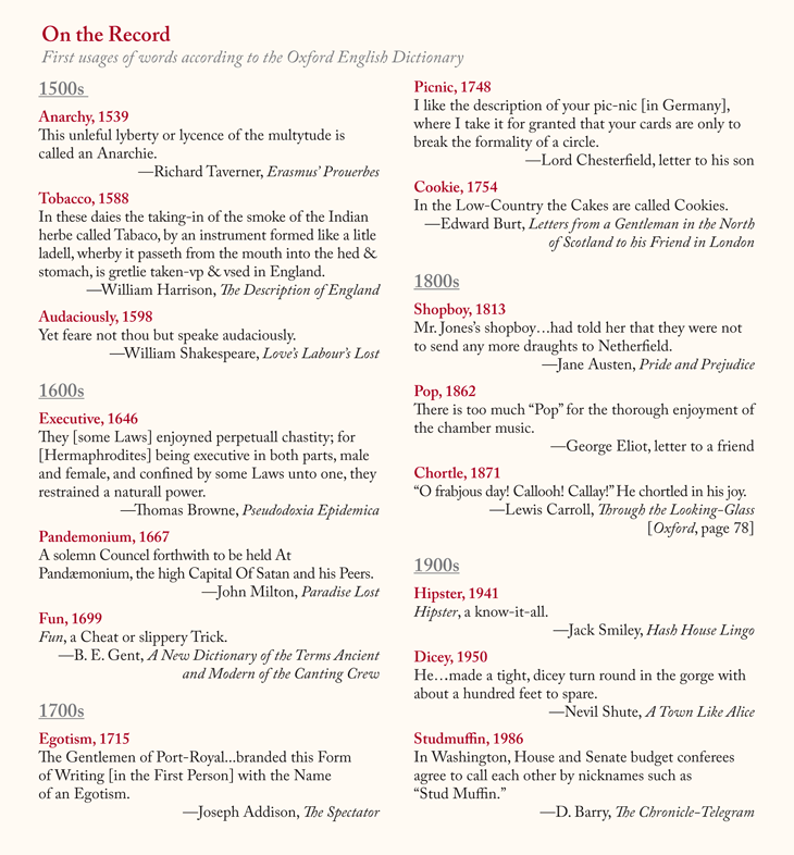 "Previous Pinner: ""Lapham's Quarterly Infographic Of First"