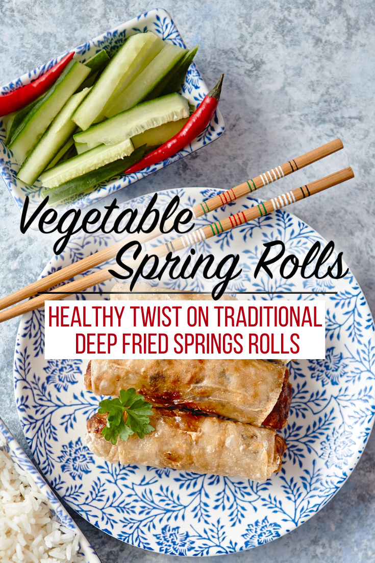 We've taken your traditional spring roll filling and