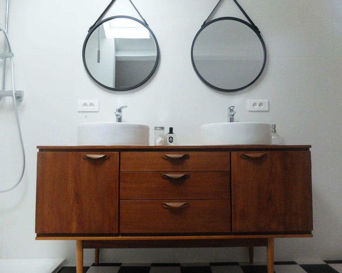 Diy Transformer Une Enfilade En Meuble Vasque Meuble Vasque Diy Meuble Salle De Bain Meuble Salle De Bain