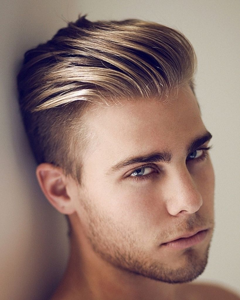 Mens haircut short on sides boys haircut short sides long top easy mens hairstyles long top