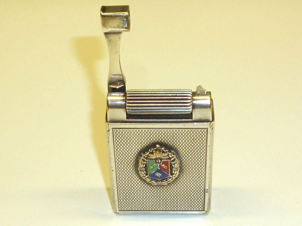 S T Dupont Drago Paris Briquet Essence Liftarm Petrol Lighter