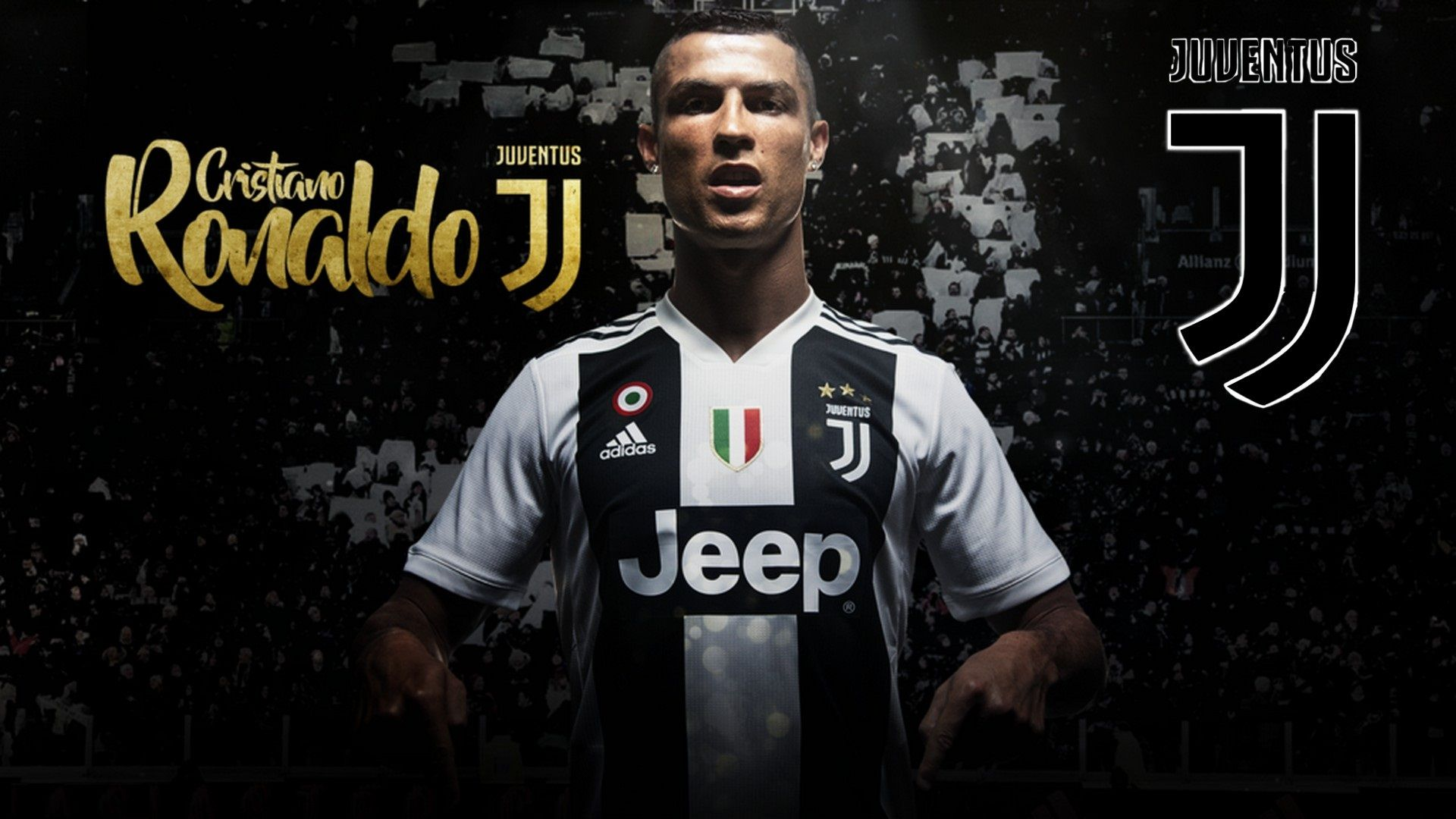 purchase cheap 7197e f459c Cristiano Ronaldo in Juventus HD Wallpapers New Tab ...