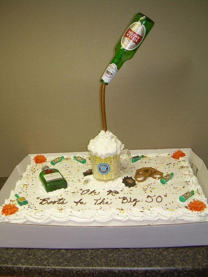 Beer Birthday Cakes For Men Thiscakefortheguysth - Birthday cake for a guy