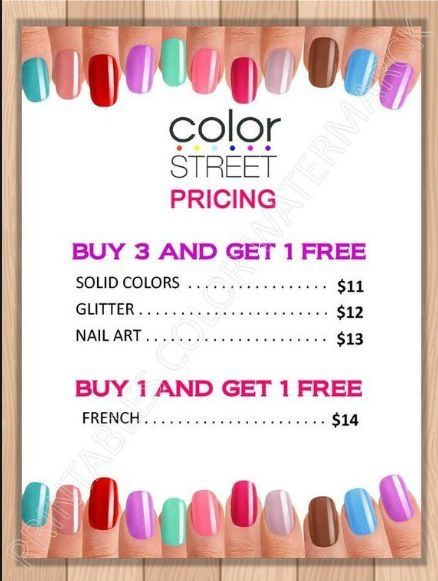 Nail Strips Color Street Color Street Nails Nail Prices