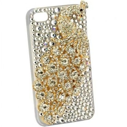 Gorgeous Peafowl Back Cover Case for iPhone 4/4S