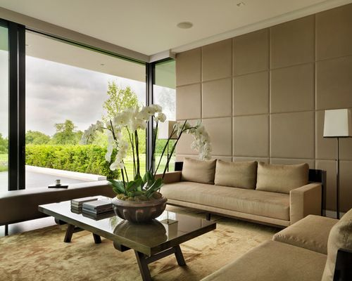 Big Living Room Designs Interesting Fabric Wall Panels Ideas Pictures Remodel And Decor  Kepler Inspiration