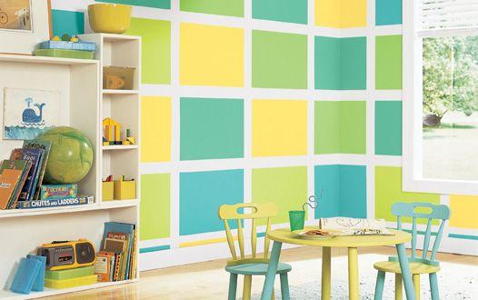 homeschool room ideas | Homeschool Organization / kids room paint ...