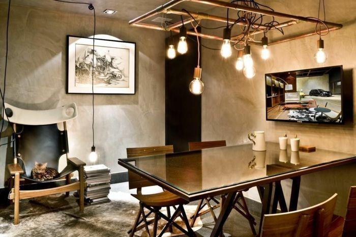 ▷ 1001 + variantes de la déco industrielle avec plusieurs conseils - peinture sur meuble bois