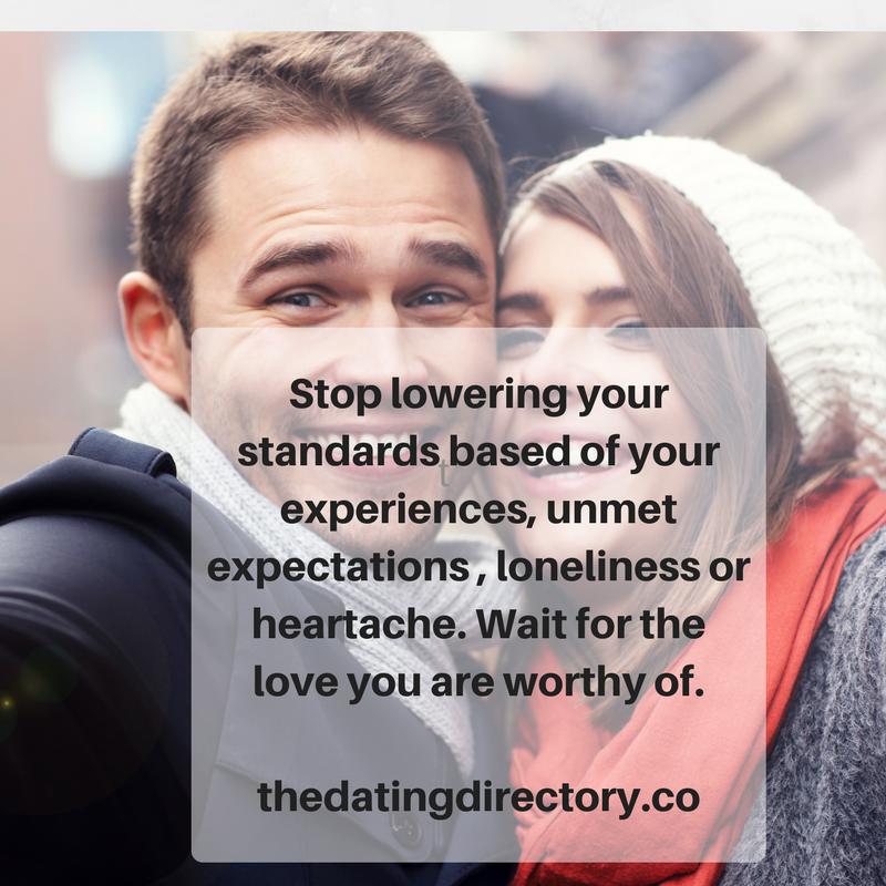 dating lowering standards