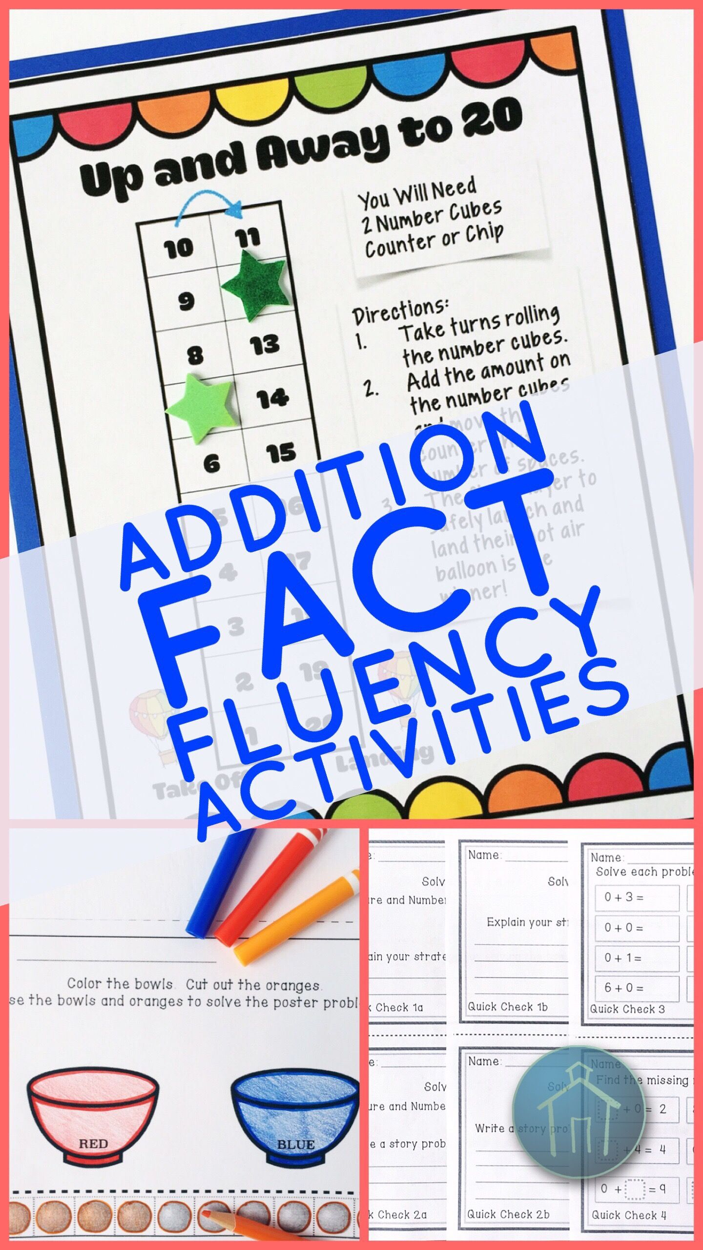 Addition Fact Fluency Add Zero Activities Assessments