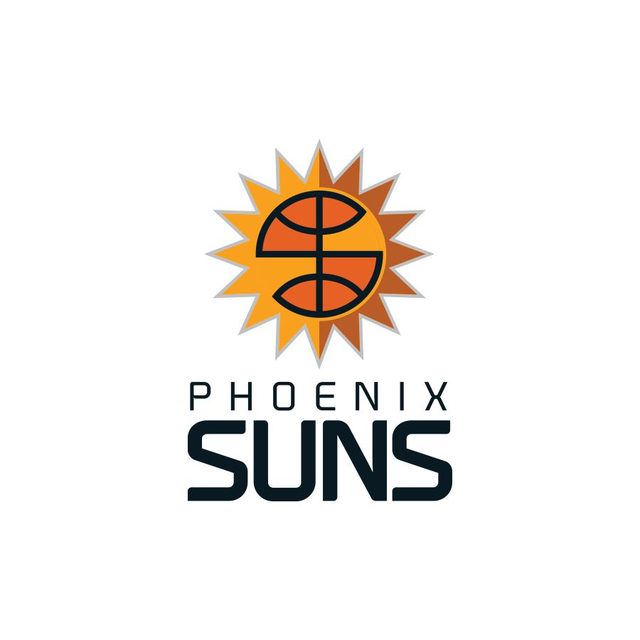 Nba Logo Redesign Phoenix Suns On Behance Graphic