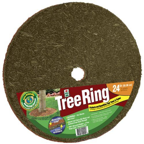 Perma Mulch Tr24912 30 24 Inch Red And Brown Tree Ring 400 x 300