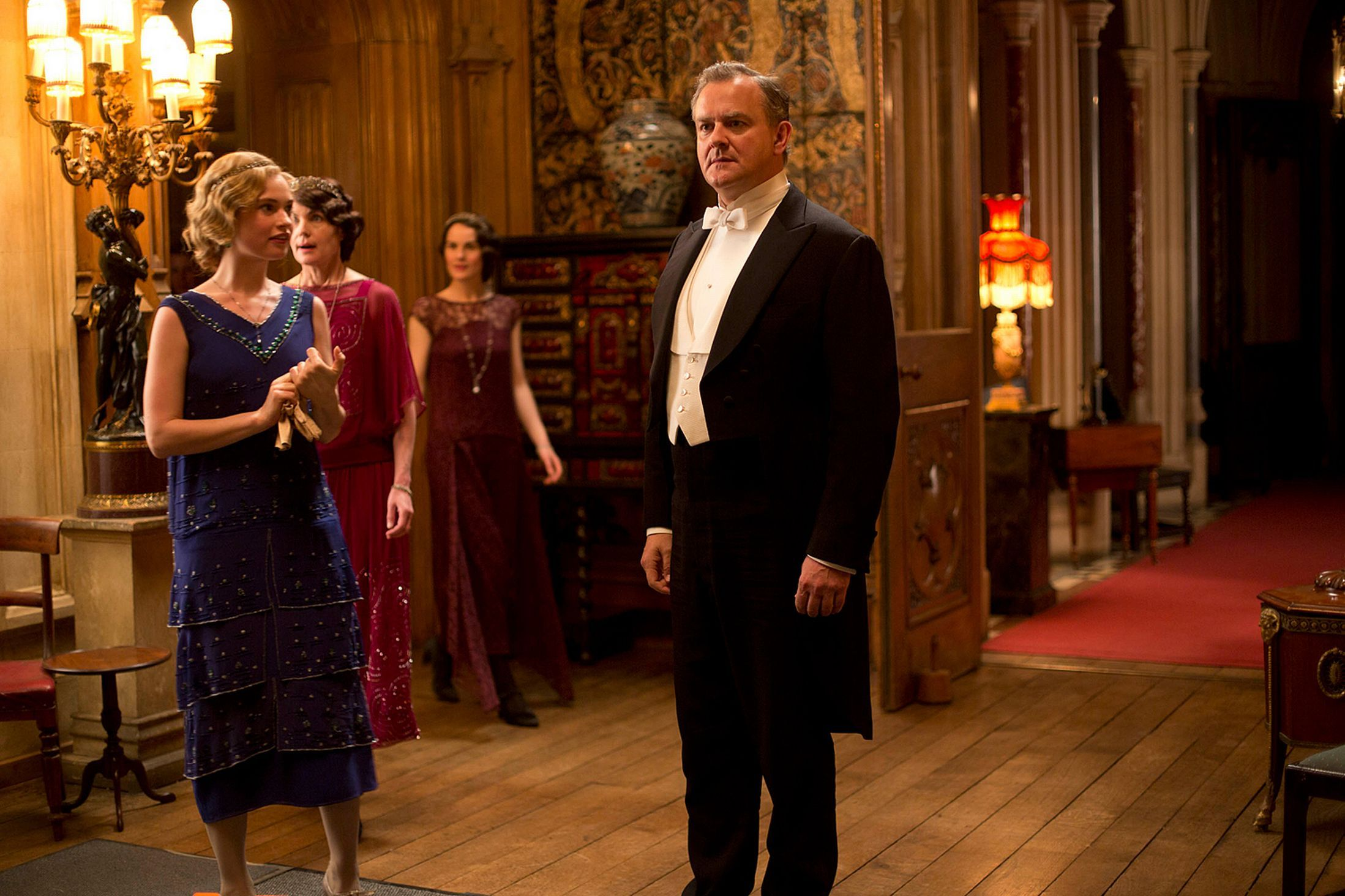Downton Abbey: Lord Grantham's birthday surprise.