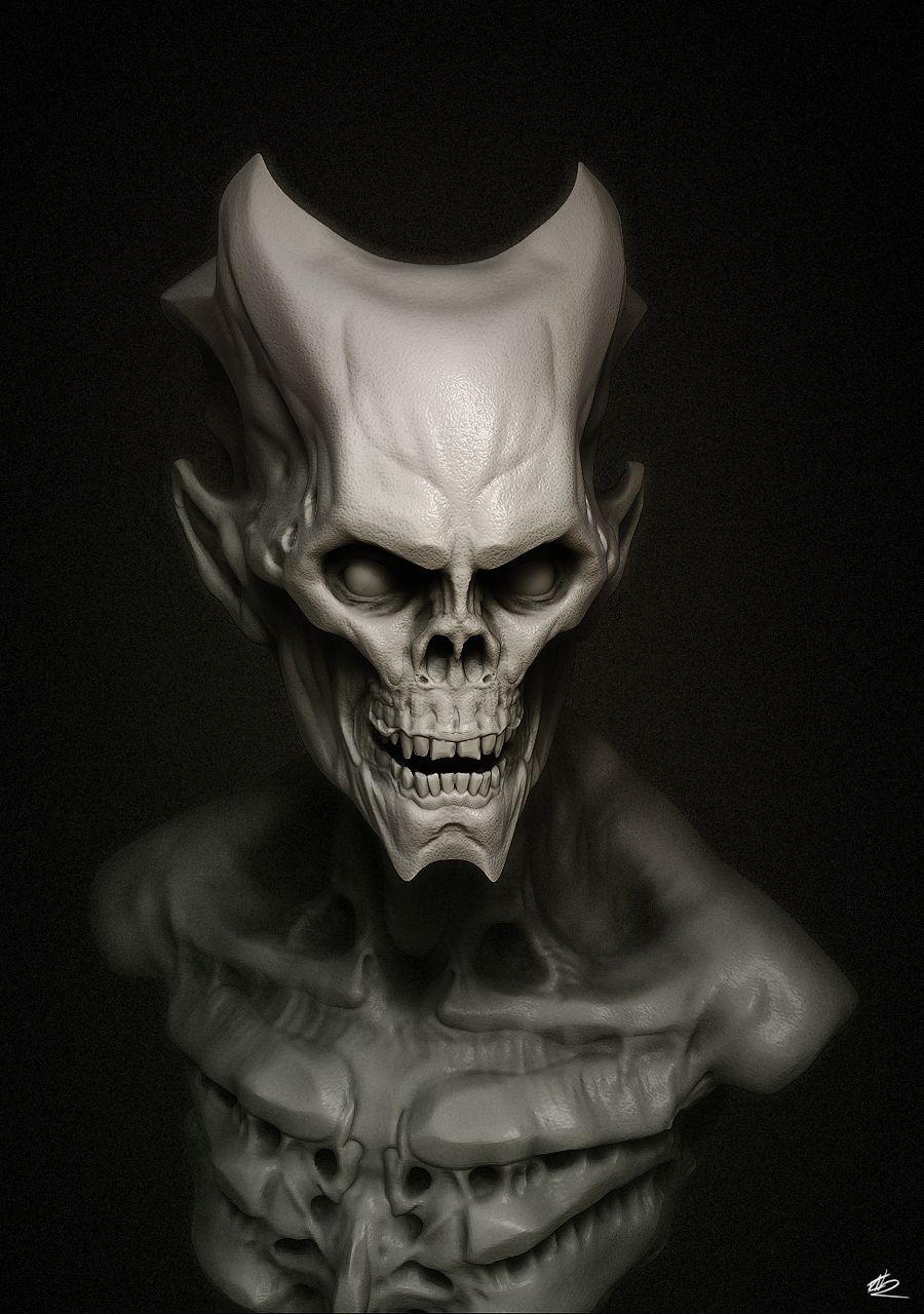 Demonio por CRYart en el Reino Unido en DeviantArt   Angeles del ...