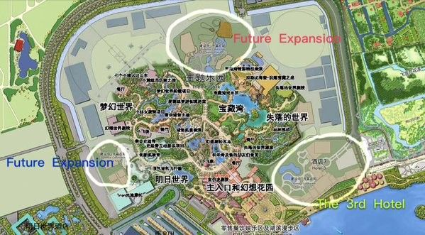 Shanghai Disneyland - Future expansion areas & constraction ... on singapore disneyland map, los angeles disneyland map, dollywood map, knott's berry farm map, hersheypark map, disneyland brazil map, disneyland area map, hongkong disneyland map, vintage disneyland map, hong kong map, disneyland ca adventure map, china disneyland map, disneyland park map, magic kingdom map, disneyland concept map, universal studios singapore map, disneyland california map, disneyland anaheim map, disneyland paris map, ferrari world abu dhabi map,