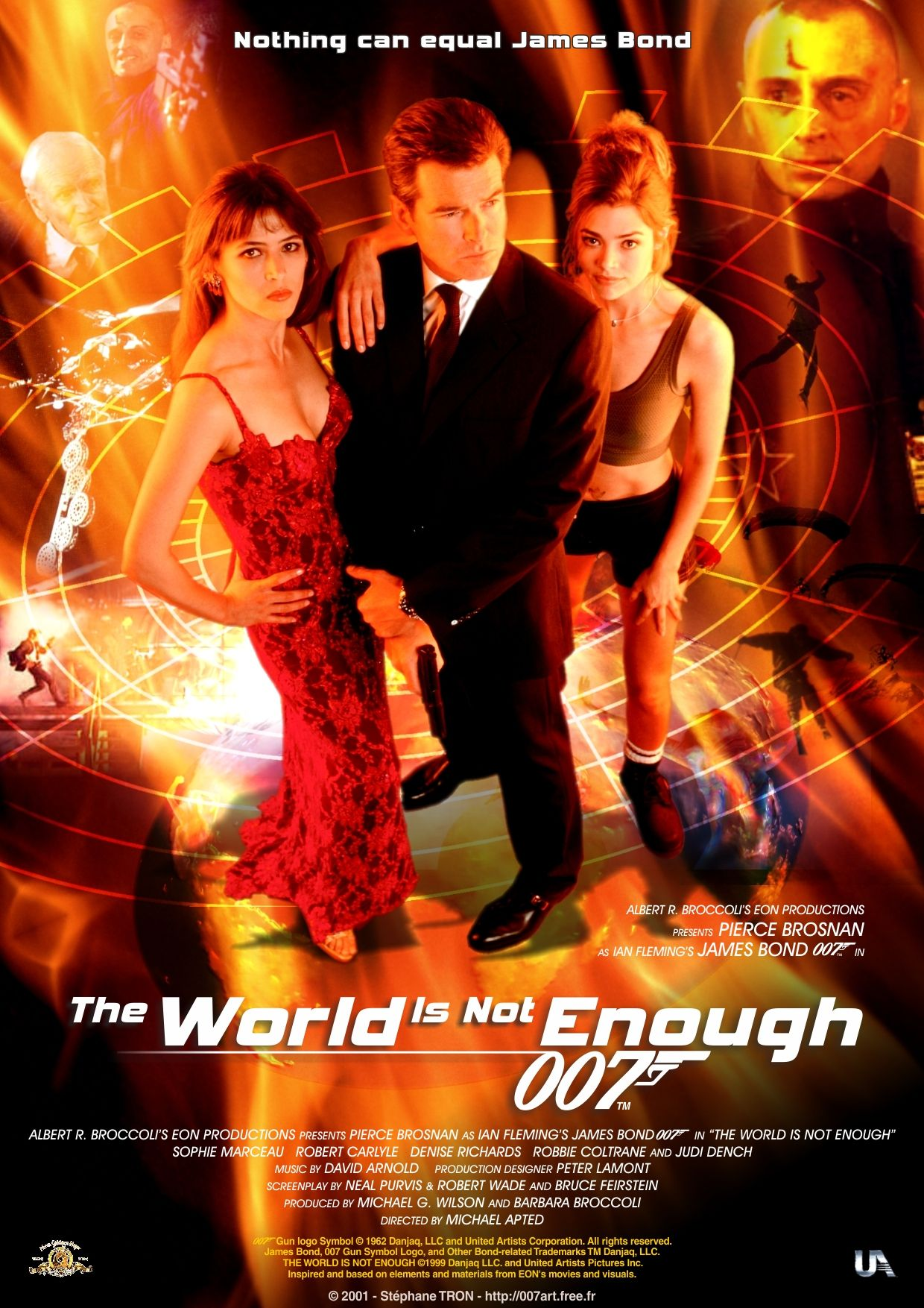 The World Is Not Enough 1999 Poster Https Www Youtube Com User