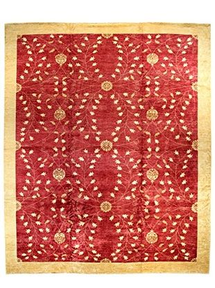 Bashian Rugs Hand Knotted One Of A Kind Rug Red X