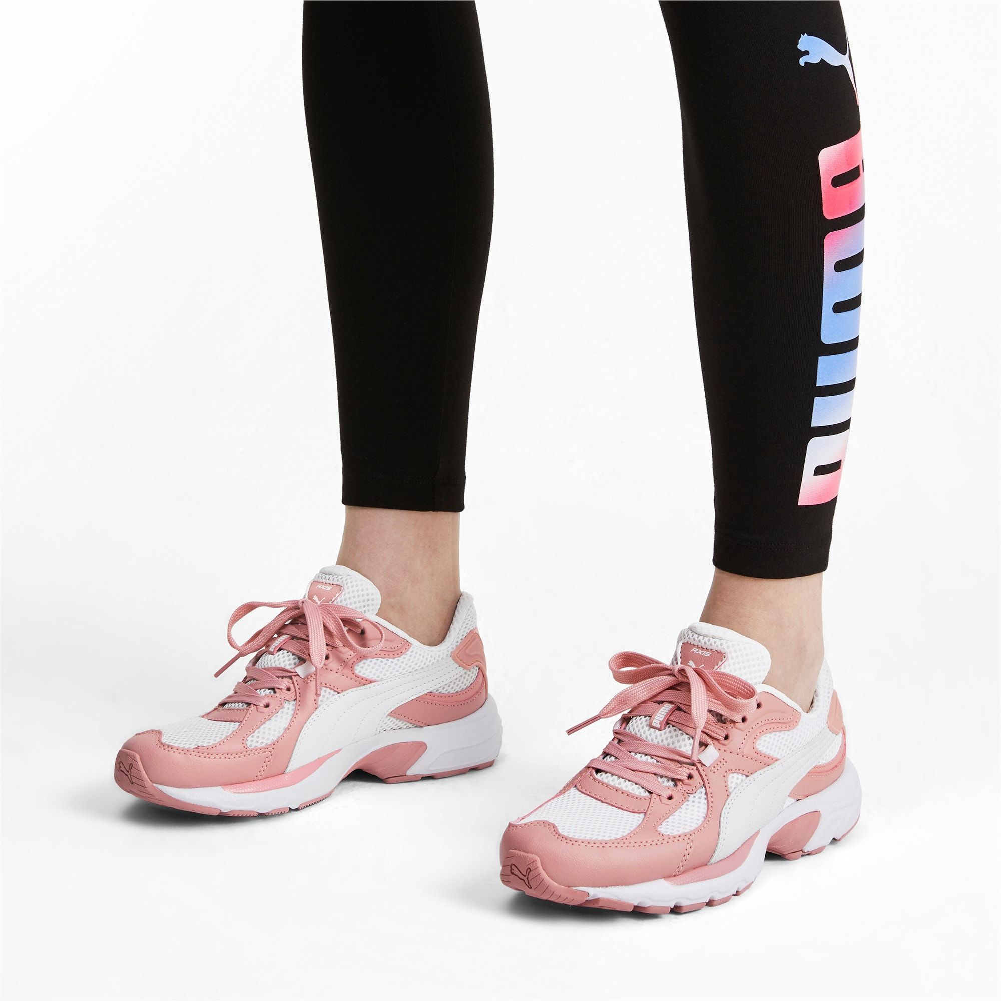 bandera Probablemente Mula  PUMA Axis Plus 90S Trainers in White/Bridal Rose size 10.5 #fashioninthe90s PUMA  Axis Plus 90S Trainers in White/Bridal Rose size 10.5 | Women shoes, Puma,  Heels