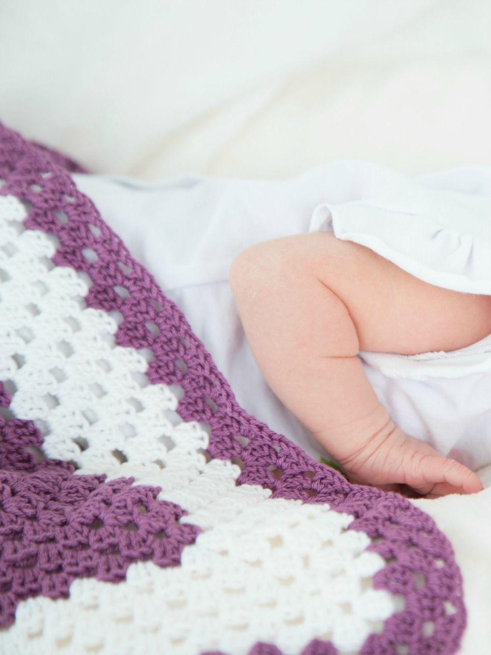 Abschluss Baby-Monat: Kuscheldecke fürs Baby