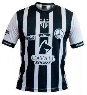 9ac748dd4 Necaxa Away 16-17 Season Black White Soccer Jersey  I844