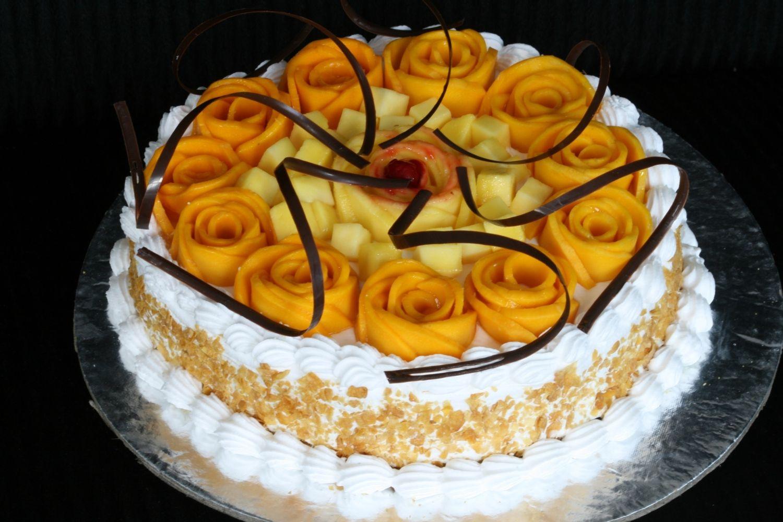 Mango Cake   Cake, Mango cake, Cookie decorating