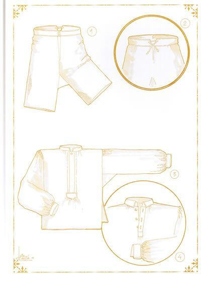 indumentaria aragonesa calzoncillo - Buscar con Google