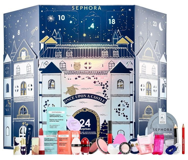 sephora once upon a castle advent calendar for holiday. Black Bedroom Furniture Sets. Home Design Ideas