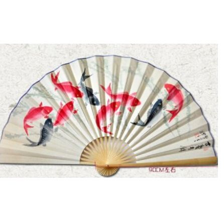 "Decorative Wall Fans 100% classic handcrafted hand painted 65"" chinese decorative"