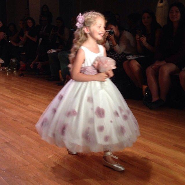 Bridal Runway Shows: 10/11 Recap | Flower girl dresses