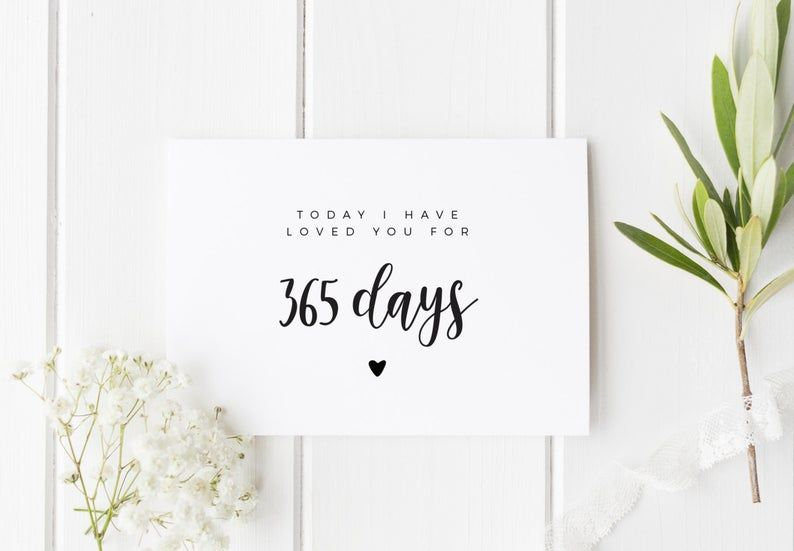 First Anniversary Card 1 Year Anniversary For Boyfriend Card For Boyfriend Anniversary Cards For Boyfriend First Birthday Cards 1 Year Anniversary Boyfriend