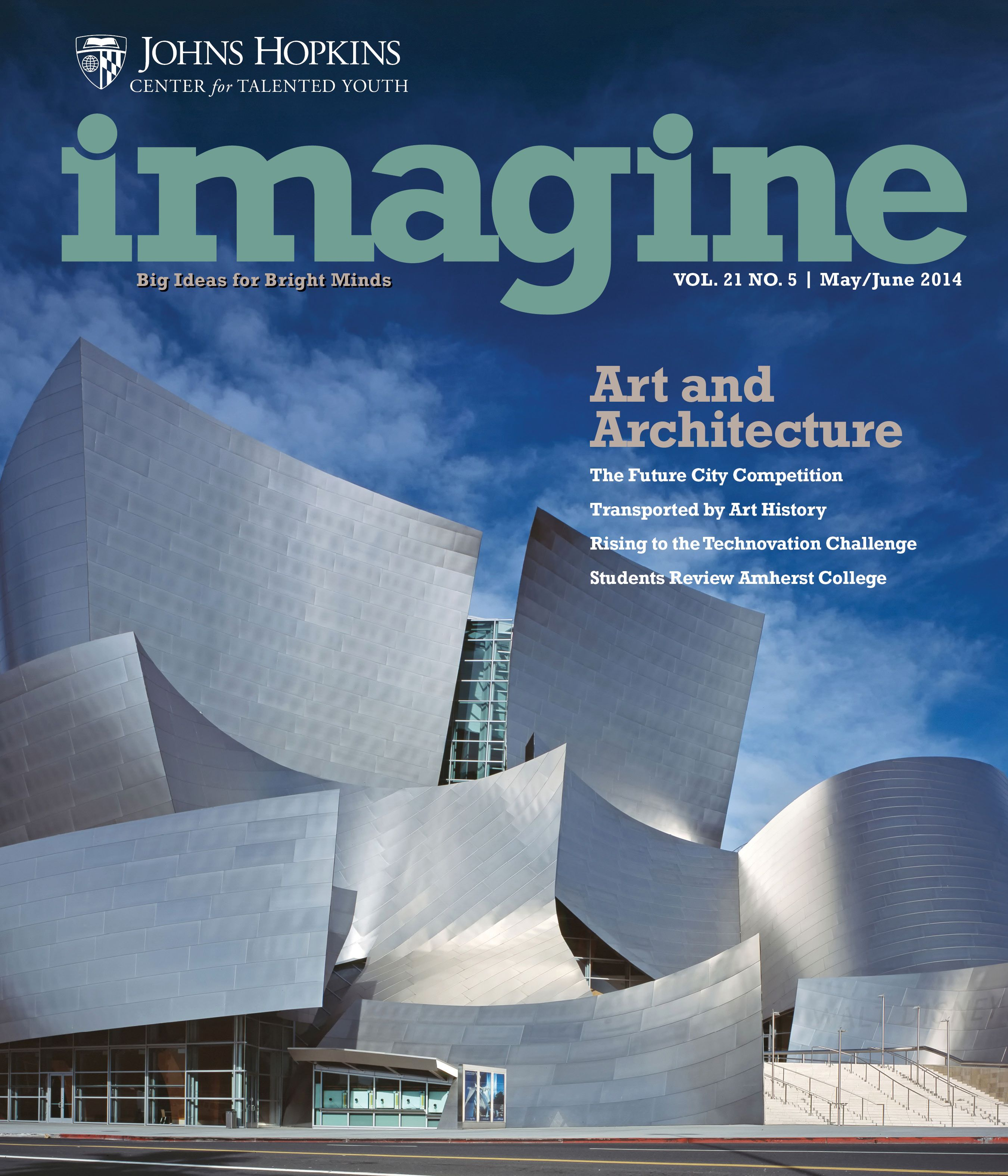CTY Imagine magazine back issues Imagine, Future city