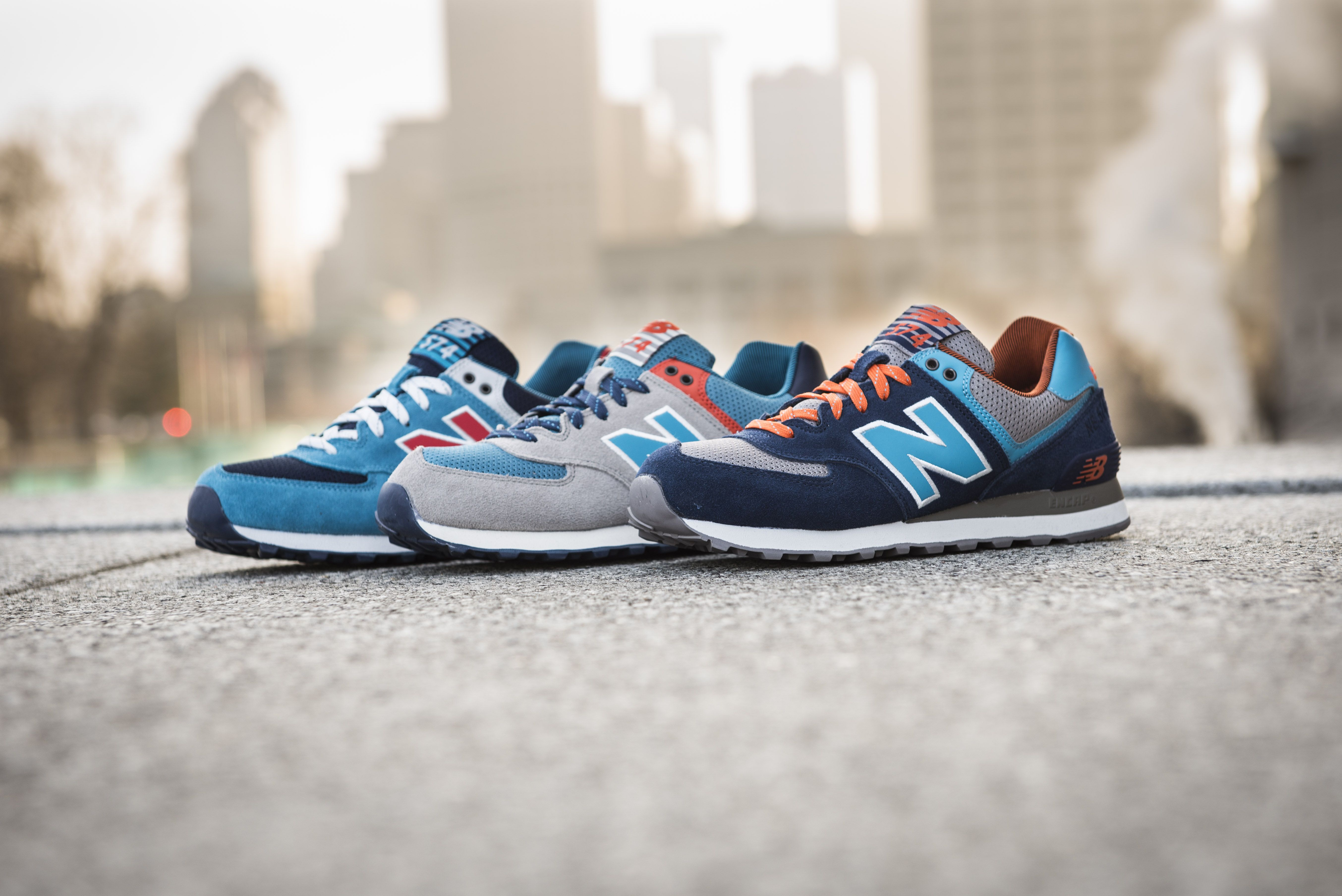 men's new balance 574 casual shoes