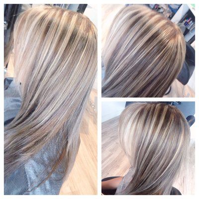 Ash Blonde Highlights And Dark Ash Base Color Bybrandy Ash