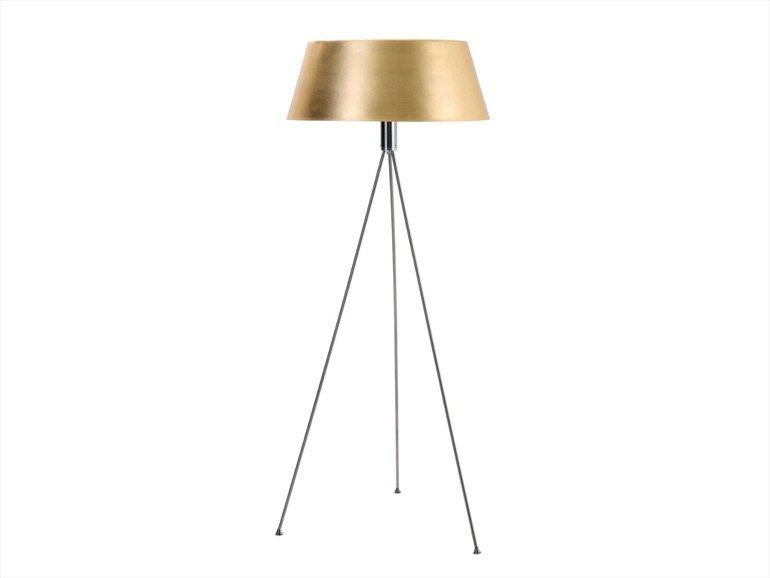 Aluminium floor lamp chic les contemporaines collection by roche bobois design carlo zerbaro